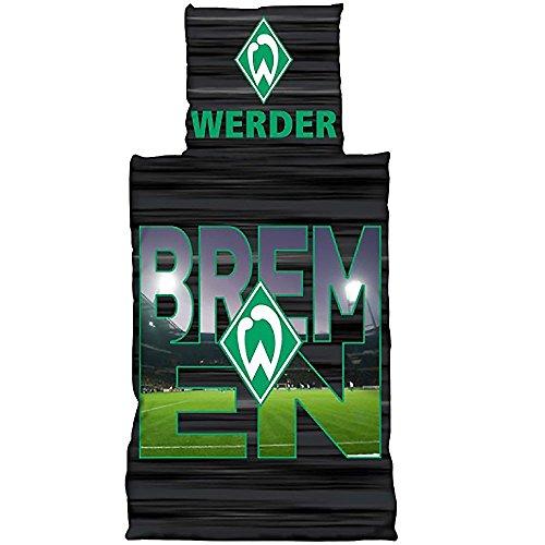 Bertels SV Werder Bremen Bettwäsche Übergröße Stadionbuchstaben 155 x 220 cm