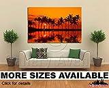 Wall Art Canvas Picture Print - Anaehoomalu Bay Sunset on Big Island Hawaii 3.2