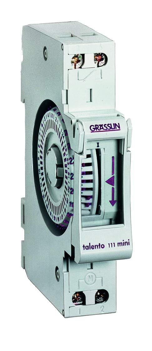 GRÄSSLIN - 01.06.0004.1 - Talento 111 Mini - Interruptor Horario ...
