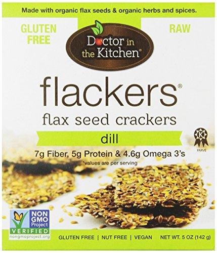 Docteur dans la cuisine de lin Crackers, l'aneth, 5-once