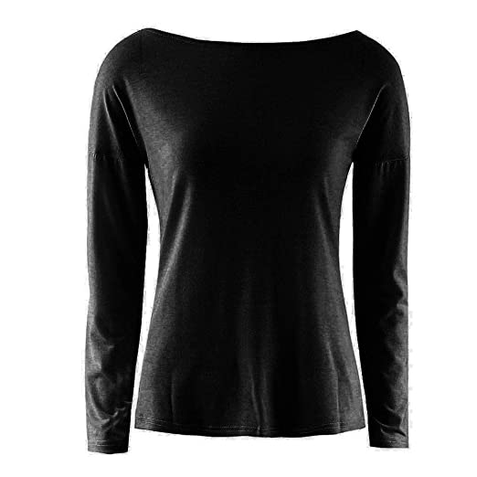 Amazon.com : Clearance Women Tops LuluZanm Autumn Ladies Casual Party T-Shirt Womens Sexy Back Long Sleeve Tops Blouse : Grocery & Gourmet Food