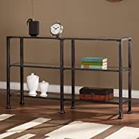 Southern Enterprises 3 Tier Console Table