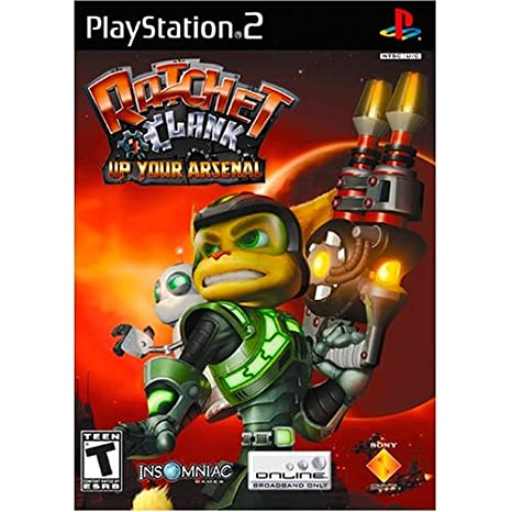 Amazon Com Ratchet Clank Up Your Arsenal Playstation 2 Unknown Video Games