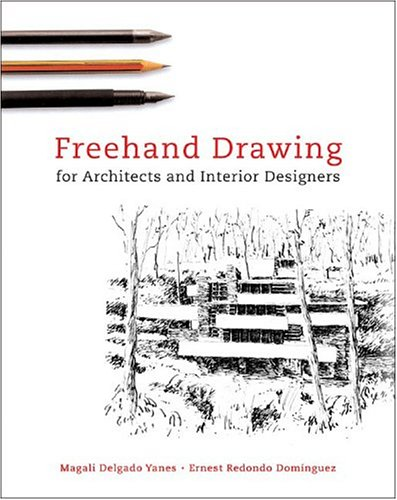 Freehand Drawing For Architects and Interior Designers (Paperback)-cover