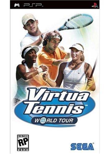 Virtua Tennis World Tour Sony PSP