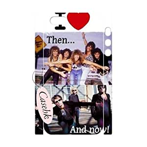 Casehk Unique Design Hard Shell Case for iPhone 5,5G,5S, DIY Bon Jovi iPhone 5,5G,5S 3D Case, Bon Jovi Custom Cell Phone Case