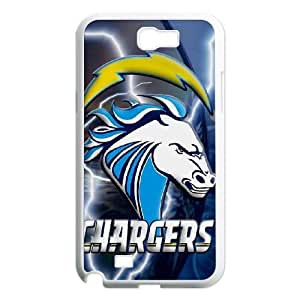 Samsung Galaxy Note 2 N7100 Phone Case Football NFL San Diego Chargers Personalized Cover Cell Phone Cases GKZ168711