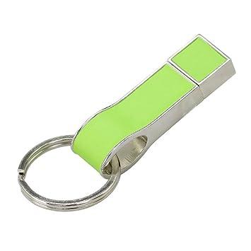 16GB Llavero verde llavero modelo pendrive memoria stick USB ...