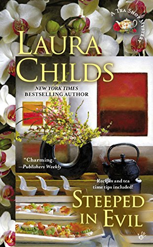 Steeped in Evil (Tea Shop Mysteries Book - Jordan Shop Usa