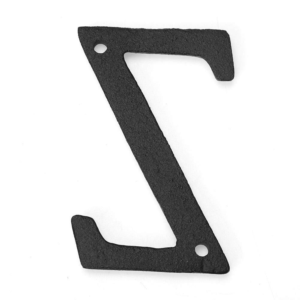 Lettera E Starnearby Numero civico Esterni House Number Ferro Numeri Civici Moderno Grandi numeri di casa Door Sign personalizzato 8cm* 0,5cm