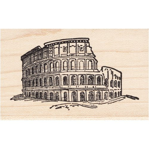 Colosseum Rubber Stamp