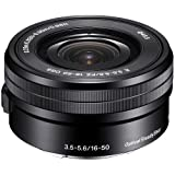Photo : Sony SELP1650 16-50mm Power Zoom Lens (Black, Bulk Packaging) - International Version (No Warranty)