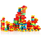 Dimple 150 Piece Building Block Set with Carry Bag DC15381