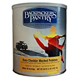 Backpacker's Pantry Bacon Cheddar Mashed Potatoes, 36 Ounces, 10 Can