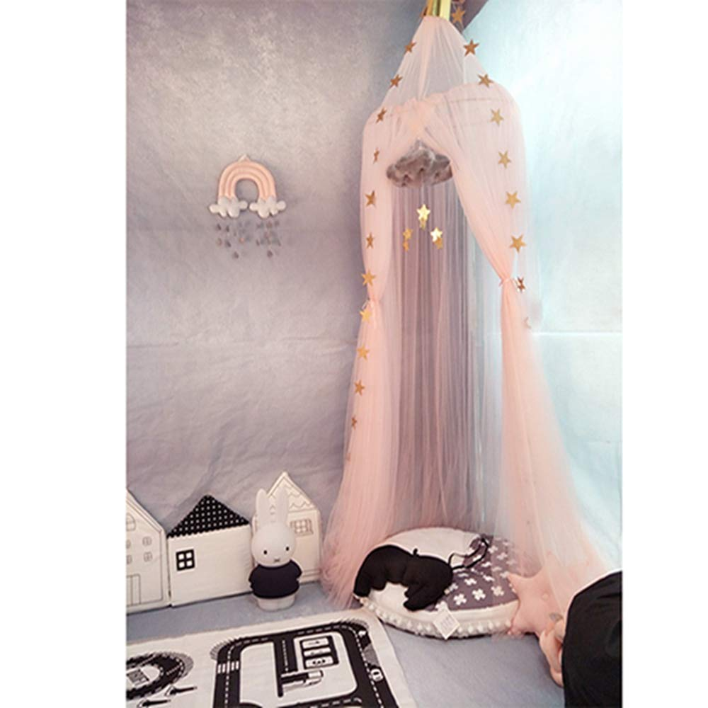 QIQI Dome Tent, Children's Room Dome Dream Champion Tent Bed Nets Children's Room Tent Bed Account Home Decoration Seven Colors.