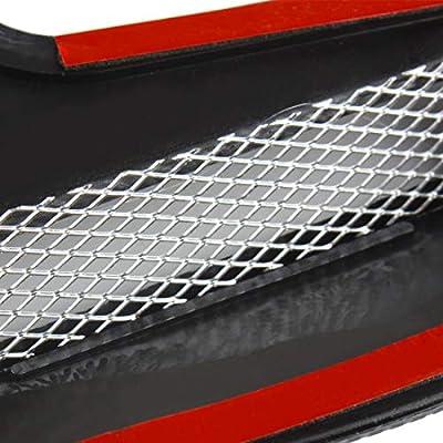 Andux Land Car Vent Grille Cover Decorative Air Flow Intake 2pcs JFK-02 (Carbon fiber): Automotive