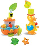 Bath Toy Set 3 Activities