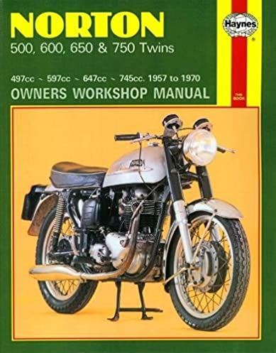 norton twins 1957 70 owners workshop manual haynes rh amazon com norton dominator 88 workshop manual Norton Cafe Racer