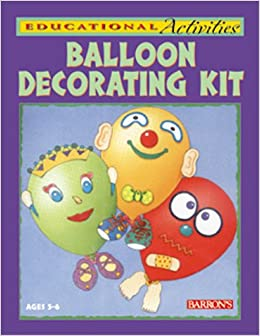 Balloon decorating kit educational activity kits for Balloon decoration book