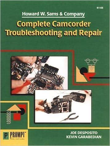 Complete Camcorder Troubleshooting & Repair