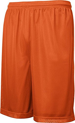 Sport-Tek - PosiCharge Classic Mesh Shorts. ST510 - Large - Deep Orange