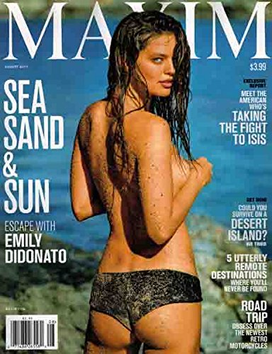 Maxim Magazine August 2015 Sea, Sand & Sun