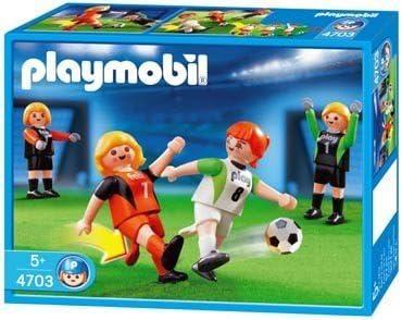 Playmobil 4703 - Football féminin - 12 pieces: Amazon.es: Juguetes ...