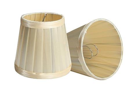 Splink - Lote de 2 pantallas de lámparas de estilo europeo ...