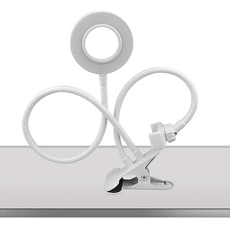 Beisoug USB Recargable Belleza Luz de Relleno Mesa de Escritorio ...
