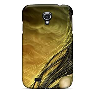 High Grade MeSusges Flexible Tpu Case For Galaxy S4 - Lonesome Lady