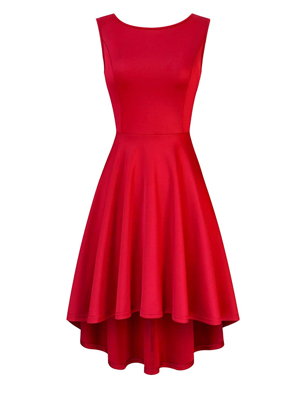 Clearlove Womens Cocktail Dress Elegant Evening Swing Party Dress