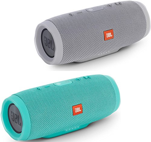 jbl-charge-3-waterproof-portable-bluetooth-speaker-pair-gray-teal