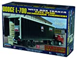 Lindberg Dodge L-700 with Box Trailer