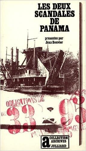 Pdf de manuel d'électronique télécharger Les Deux scandales de Panama PDF by Jean Bouvier