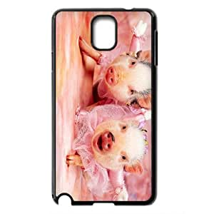 Cute pet pig baby pig Hard Plastic phone Case Cover For Samsung Galaxy NOTE 3 Case ZDI002203