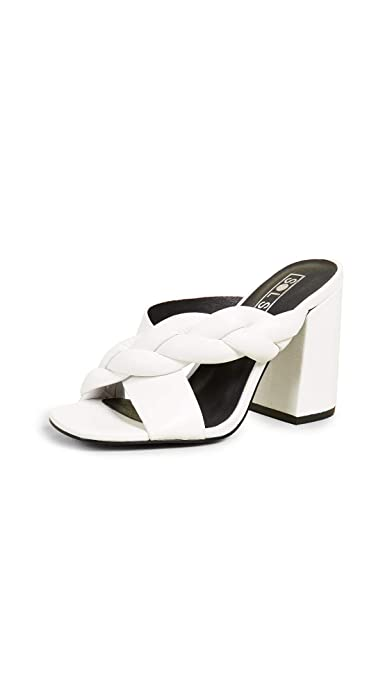 0b28e2b63b073 Amazon.com   Sol Sana Women's Jovy Block Heel Mules   Mules & Clogs