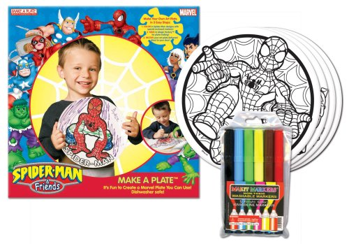 Makit Marvel Spidey and Friends Plate Kit [Toy]