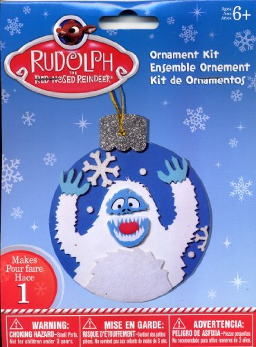 Abominable Snowman Monsters Inc (Rudolph The Red-Nosed Reindeer BUMBLE the ABOMINABLE SNOW MONSTER Ornament Kit)