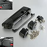 TCMT Black Tour Pak Pack Trunk Latches W/Key Fits For Harley Touring Models 2014-2019