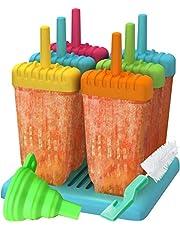 U Chef Molde Para Paletas Heladas Con 6 Cavidades Para Hacer Paletas De Hielo. Reutilizables y Libres de BPA