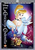 Cinderella (Two-Disc Diamond Edition Blu-ray/DVD Combo in DVD Packaging) (Spanish Version)