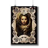 The Vampire Diaries TV Series Poster Small Prints 058-018 Bonnie Bennett Kat Graham,Wall Art Decor for Dorm Bedroom Living Room (A4|8x12inch|21x29cm)