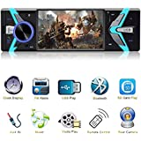 4.1 inch Car stereo with bluetooth single din Car MP5 player Car radio audio player support USB, TF Card AUX IN with Wireless Remote Control