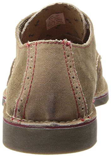 Sperry Men's Tip Sider Wing Oxford Marron Harbor Top PErRUE