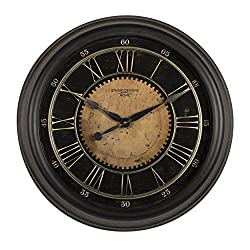 Studio Designs Home 73001 24 Classic Villa Wall Clock,Antique Bronze
