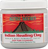 Clay Mask for Natural Hair Aztec Secret Indian Healing Clay Deep Pore Cleansing, 1 Pound