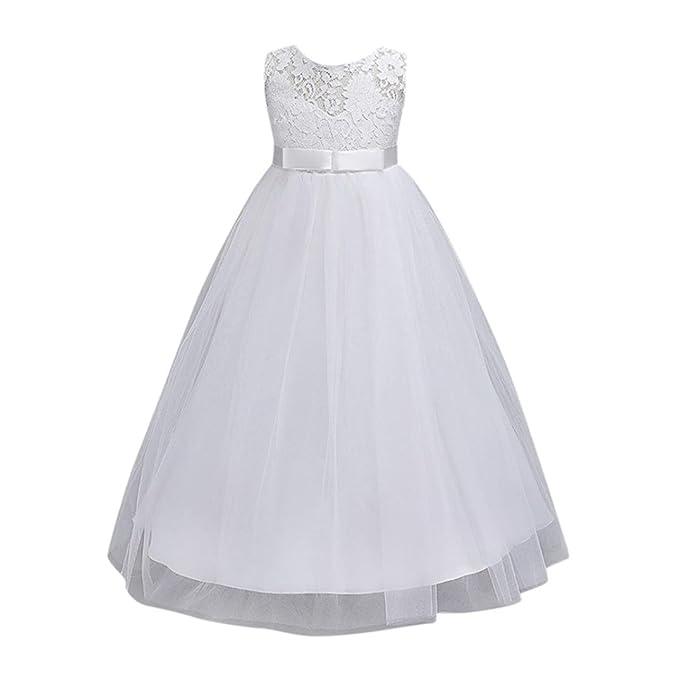 e52c99193579 Goodlock children Kids Fashion Dress Girl Flower Dress Princess Formal  Pageant Holiday Wedding Bridesmaid Dress (