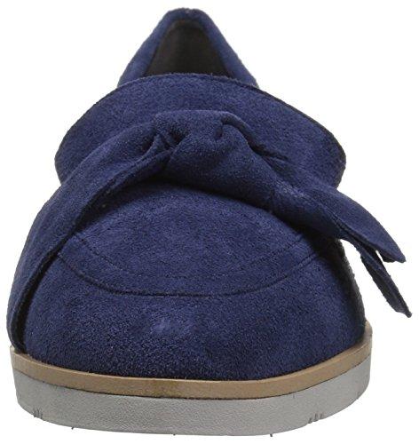 Women's Suede Sidewalk Aerosoles Blue Loafer Dark pqxR4f
