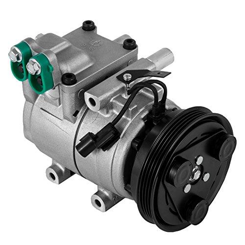 SucceBuy CO 10926C 78347 AC Compressor For Hyundai Elantra Tiburon Tucson AC Compressor Clutch 2001-2009 Air Conditioning Compressor ()