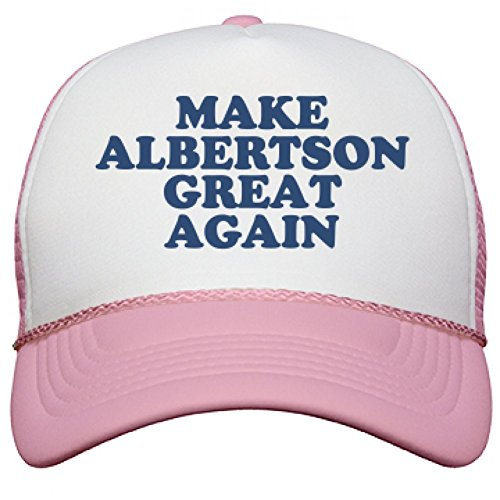 make-albertson-great-again-hat-snapback-mesh-trucker-hat